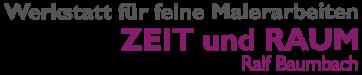 Maler Willich | Zeit & Raum | Ralf Baumbach | Logo